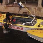 Роботи у Київському річковому порту (Відео)